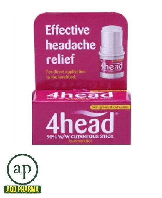 4head Headache Relief Stick - 3.6g