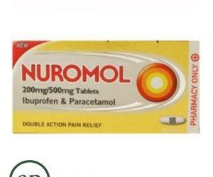 Nuromol 200mg Ibuprofen & 500mg Paracetamol - 12Tablets