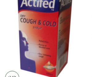 Actifed Dry Cough Syrup (Dry) 100ML