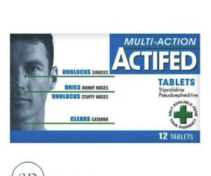 Actifed Multi-Action - 12Tablets