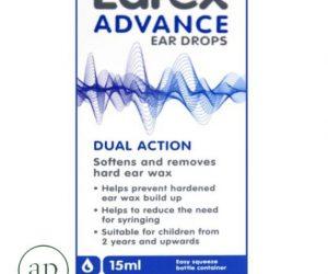 Earex Advance Ear Drops - Dual Action(15ml)