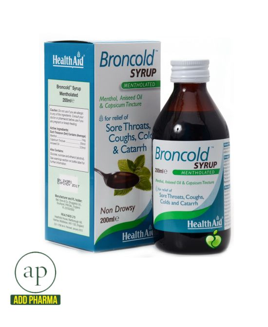 HealthAid Broncold Syrup - 200ml