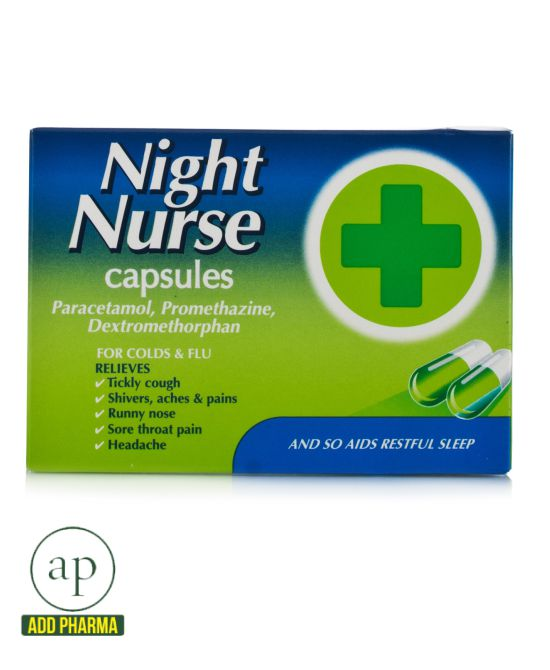 Night Nurse Capsules - 10 Capsules