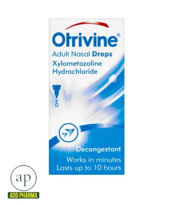 Otrivine Adult Nasal Drops -10ml