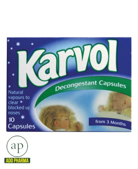 karvol capsules how to use
