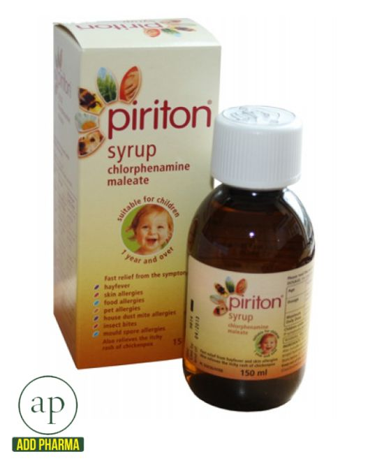 Can you be allergic to piriton