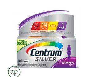 Centrum Silver Women 50+ Multivitamin - 100 Tablets