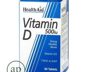 Vitamin D - 500iu 60's Tablets