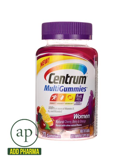 Centrum MultiGummies for Women - 70 Gummies