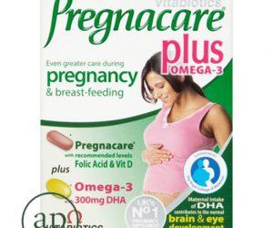 Vitabiotics Pregnacare Plus Omega 3 Dual - Pack of 56 Tablets