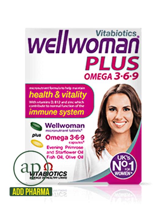 Vitabiotics Wellwoman Plus 3-6-9 Omega