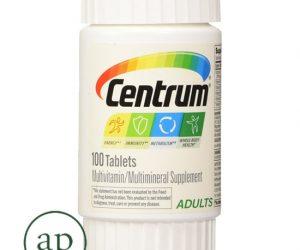 Centrum Adults Multi-Vitamin Supplement - 100 Count