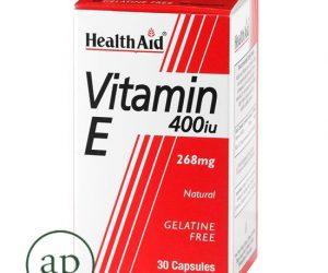 Vitamin E - 400iu 30 Capsules (268mg)