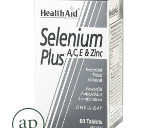 Selenium Plus (Vitamins A, C, E, Zinc) - 60's Tablets