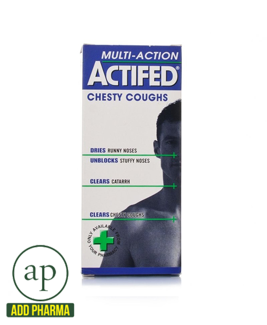 Actifed Multi-Action Chesty Coughs - 100ml