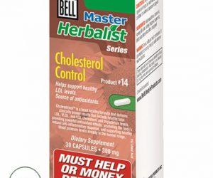 Bell Master Herbalist #14 Cholesterol Control - 30 capsules (300mg)