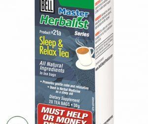 Bell Master Herbalist #21a Sleep & Relax Tea - 20 Tea Bags