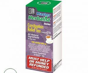 Bell Master Herbalist #21b Contispation Relief Tea - 20 Bags