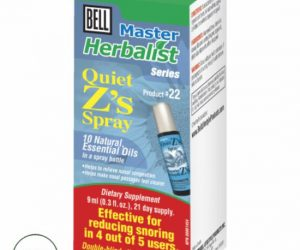 Bell Master Herbalist #22 Quiet Z's Spray - 0.3 fl. oz. / 9 ml spray bottle