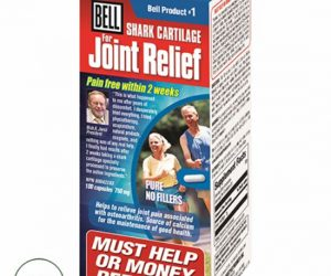 Bell #1 Shark Cartilage for Joint Relief - 100 Capsules (750mg)