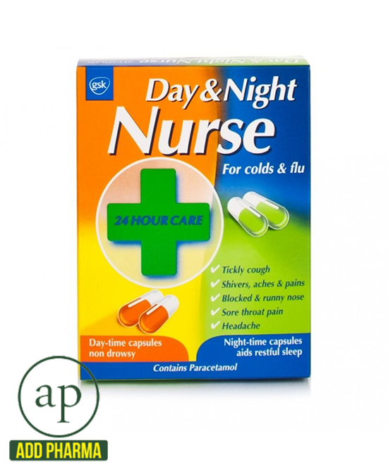 Day & Night Nurse Capsules Duo 24s - 24 Capsules