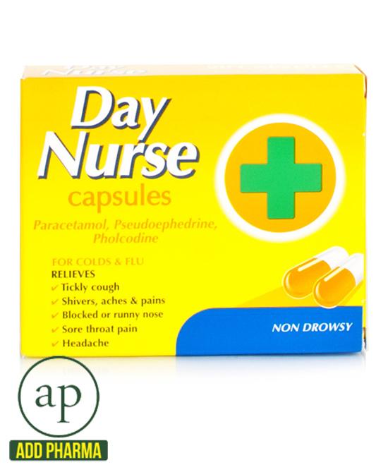 Day Nurse Capsules 20s - 20 Capsules