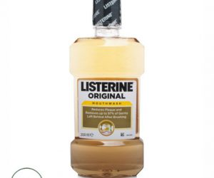 Listerine Mouthwash Original - 250ml