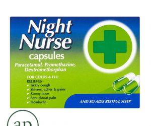 Night Nurse Capsules 10s - 10 Capsules