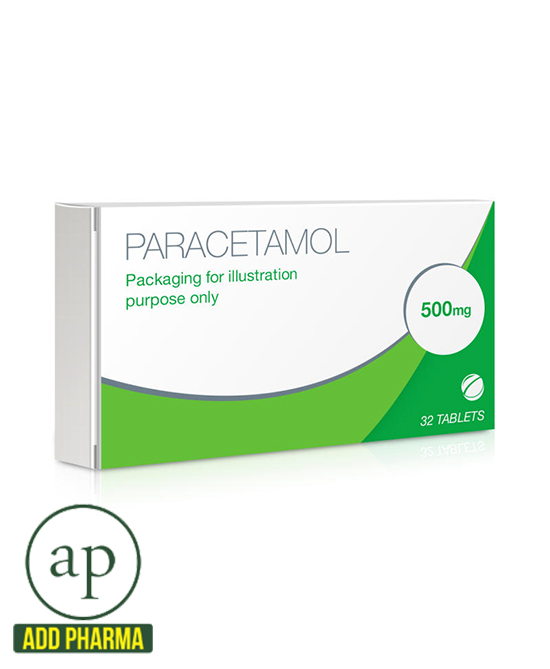 Paracetamol 500mg - 32 Tablets