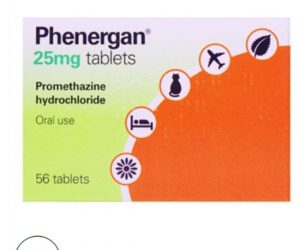 Phenergan 25mg Tablets - 56 Tablets