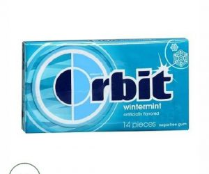 Wrigley's Orbit Sugarfree Gum Wintermint - 14 pcs