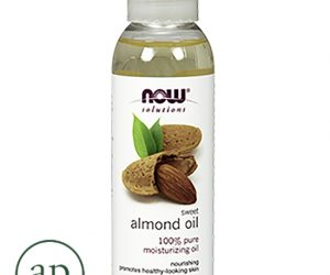 Now Foods, solutions, sweet almond oil - 4 fl oz (118 ml)