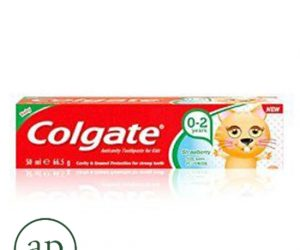 Colgate Anticavity toothpaste for kids (0-2 years) strawberry - 50ml