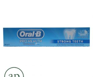 Oral B Toothpaste, Strong Teeth, Extra Fresh Gel - (140g)