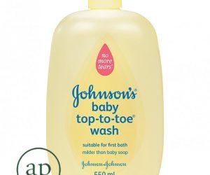 JOHNSON'S Baby Top-To-Toe Wash - 550ml