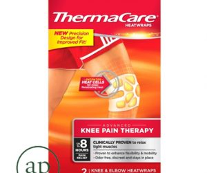 ThermaCare Heatwraps Air-Activated Knee and Elbow Pain Therapy - Pack of 2 Heatwraps