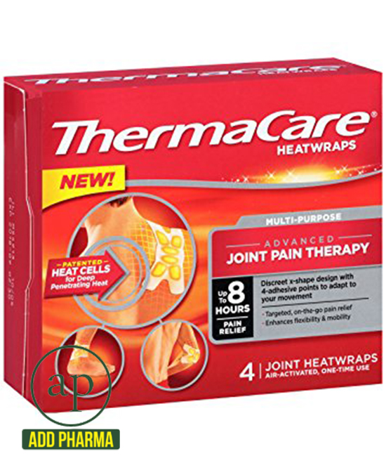 ThermaCare Heatwraps Air-Activated Advanced Muscle Pain Therapy - Pack of 3 Heatwraps