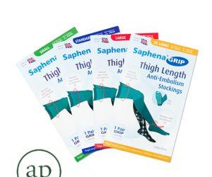 Saphena Thigh Length Anti-Embolism Stockings - 1 pair ea.