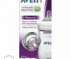 Avent Natural Feeding Bottle 1m+ - Pack of 1