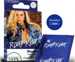 Contempo Rough Rider - 3 Premium Latex Condoms