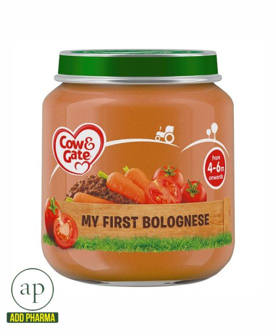 Cow And Gate My First Bolognese Jar 4 Mth+ - 125G