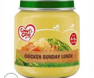 Cow & Gate Chicken Sunday Lunch 4 Month+ - 125G Jar