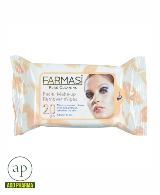 Farmasi Make Up Remover Pure Cleaning - 20 pieces