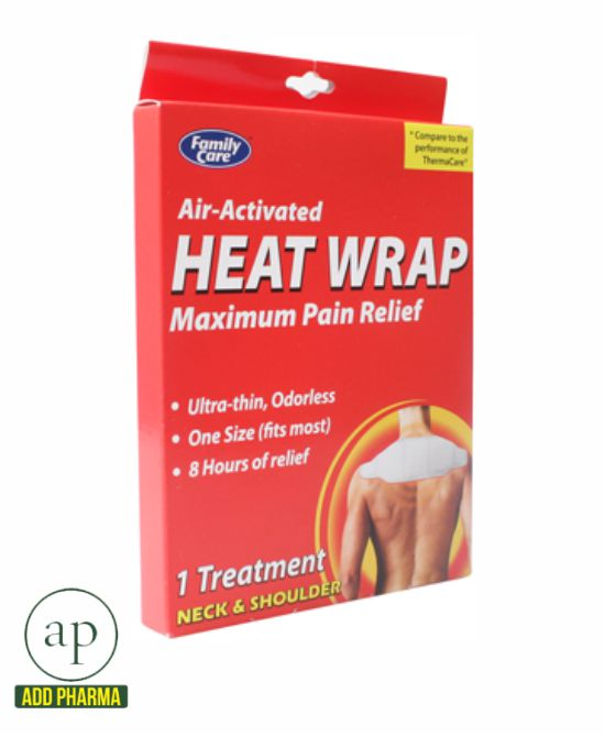 Family Care Air-Activated Heat Wrap Neck & Shoulder - 1 Treatment