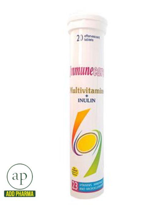 Immune Care Multivitamin Inulin - 20 Tablets