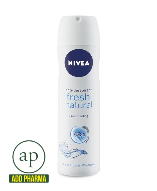 Nivea Fresh Natural Body Spray - 150ml