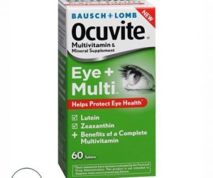 Ocuvite Antioxidant Vitamin and Mineral Supplement with Lutein - 60Tablets