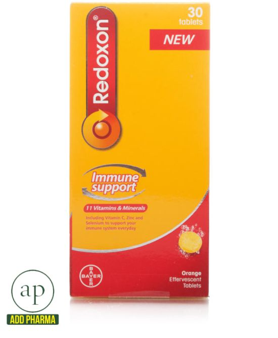 Redoxon Immune Support Effervescent Tablets - 30 tablets
