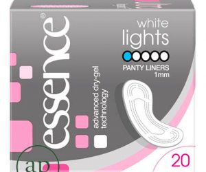 Essence White Lights Panty Liners - Pack of 20