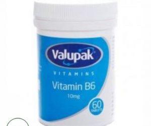 Valupak Vitamin B6 - 60 capsules